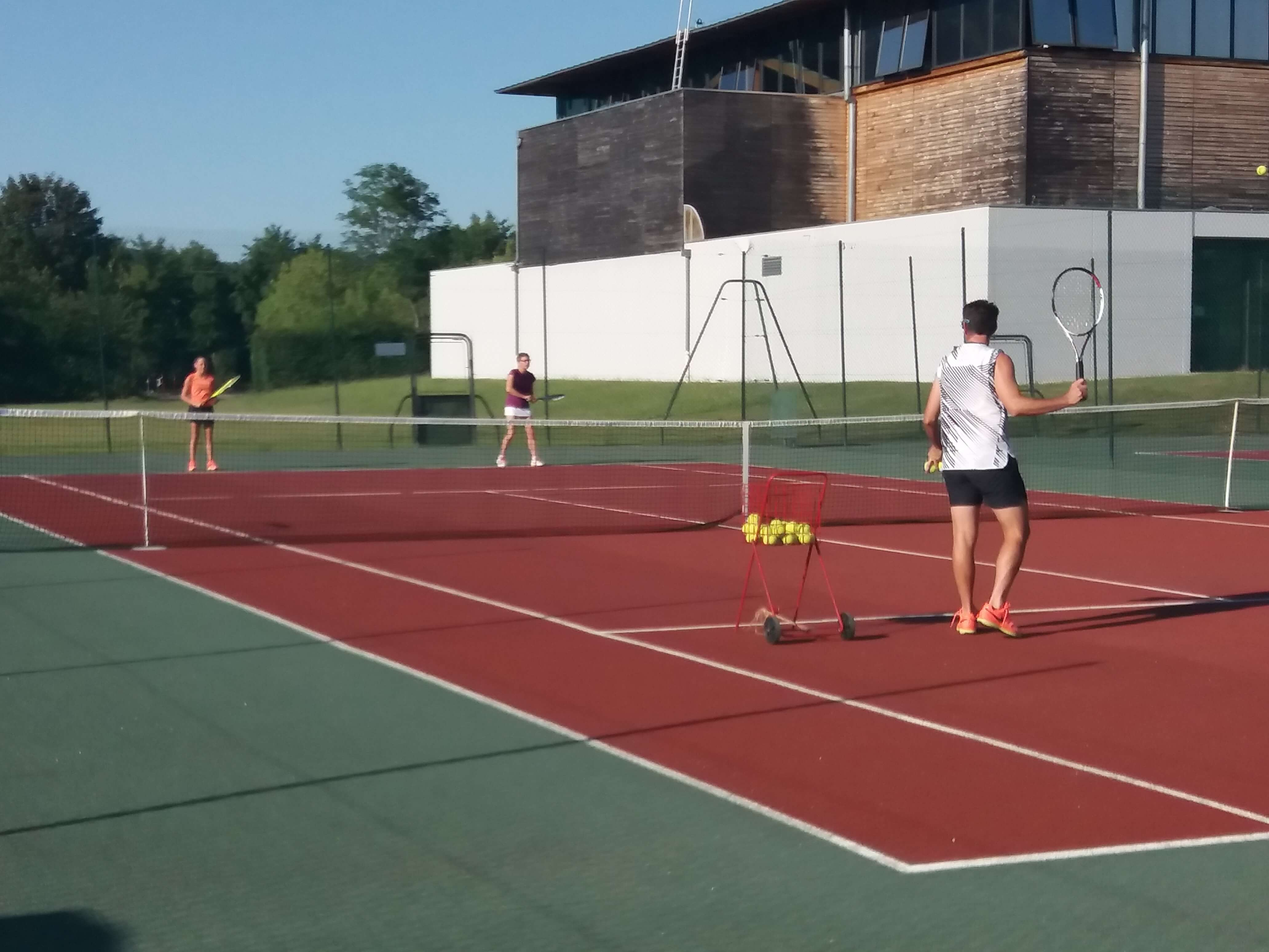 photo entrainement TENNIS CLUB CROSSEY