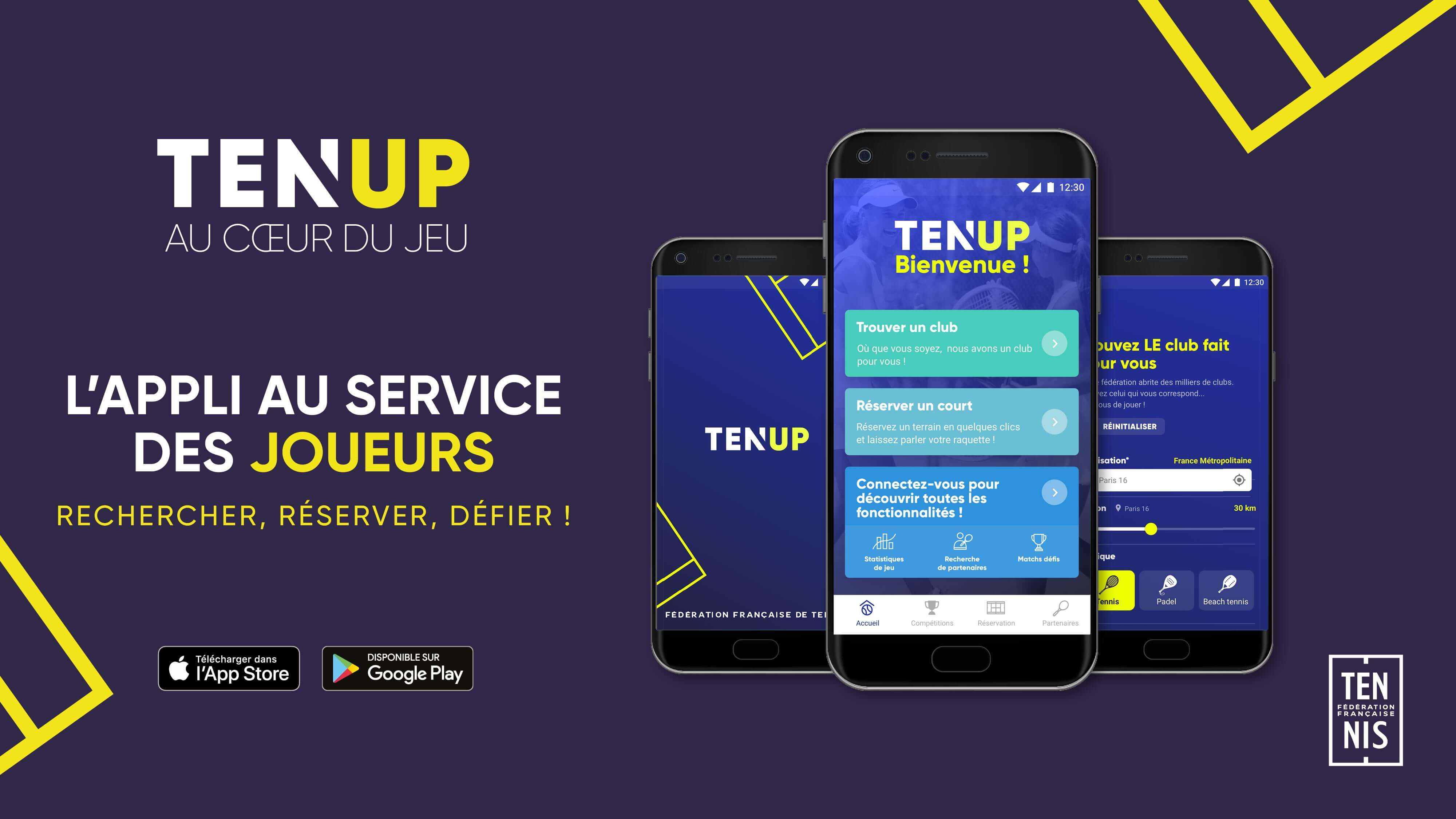 image de l'application TEN'UP
